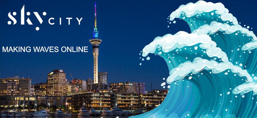 SkyCity Online Casino Making Waves